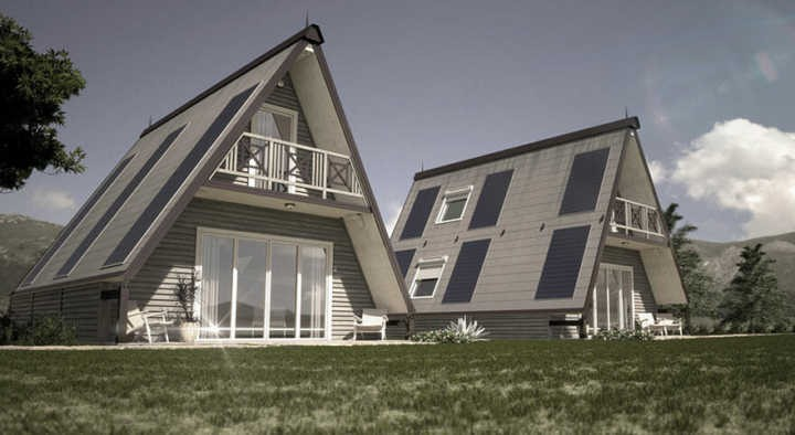 Casa dobrável pode ser montada em apenas 6 horas